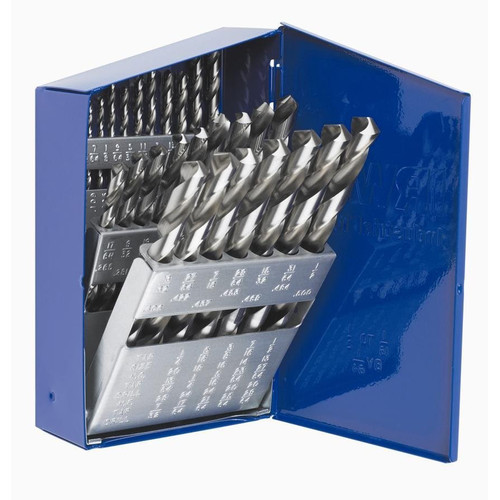 Irwin Hanson 60148 29-Piece 3/8 in. Reduced Shank High Speed Steel Drill Bit Set