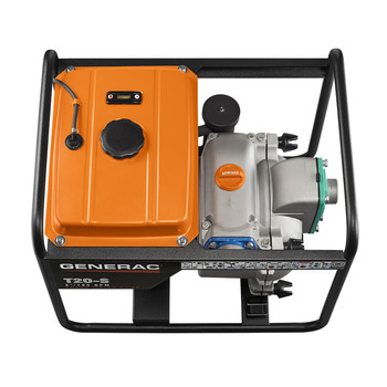 Generac 6920 T20-S 211cc Gas 2 in. Trash Pump with Subaru Engine image number 5