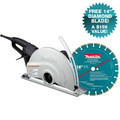 Makita 4114X 14 in. Angle Cutter with FREE Diamond Blade image number 0