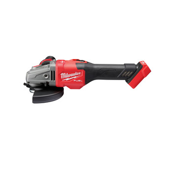 Milwaukee 2981-20 M18 FUEL 4-1/2 in. - 6 in. Braking Grinder with Lock-On Slide Switch (Tool Only)