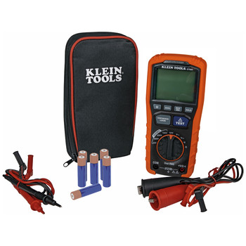 Klein Tools ET600 Cordless Insulation Resistance Tester Kit