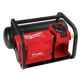 Milwaukee 2840-20 M18 FUEL Brushless Cordless 2 Gallon Compact Quiet Air Compressor (Tool Only)