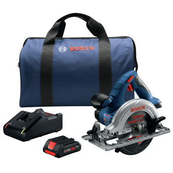 Factory Reconditioned Bosch CCS180-B15-RT 18V Lithium-Ion 6-1/2 in. Cordless Circular Saw Kit (4 Ah)