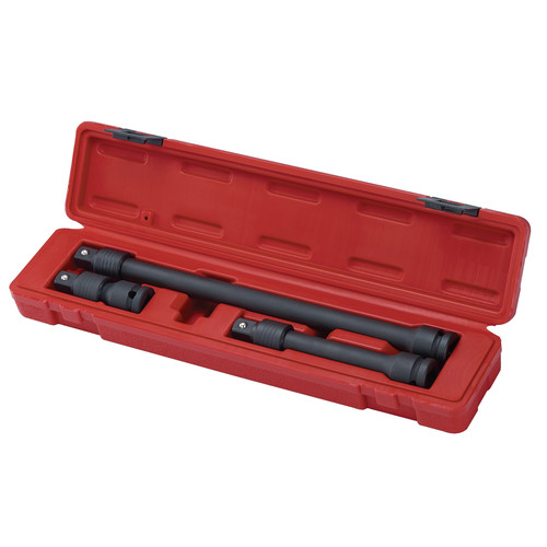 Sunex 2501 3-Piece 1/2 in. Drive Locking Impact Socket Extension Set