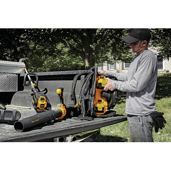 Dewalt DCBL590X2 40V MAX Cordless Lithium-Ion XR Brushless Backpack Blower Kit with 2 Batteries image number 9