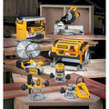Dewalt DW735X 13 in. Two-Speed Thickness Planer with Support Tables and Extra Knives image number 14