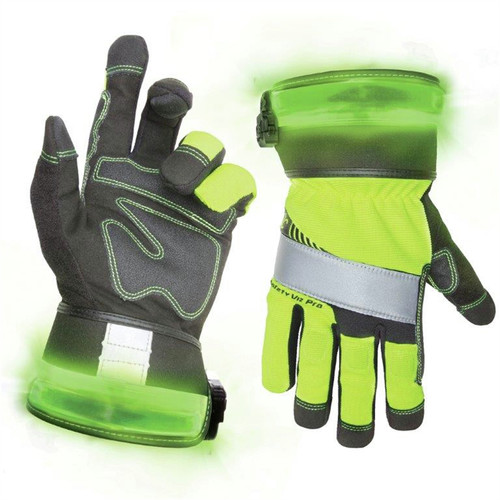 CLC L146XL Safety Pro Lighted Gloves - XL image number 0