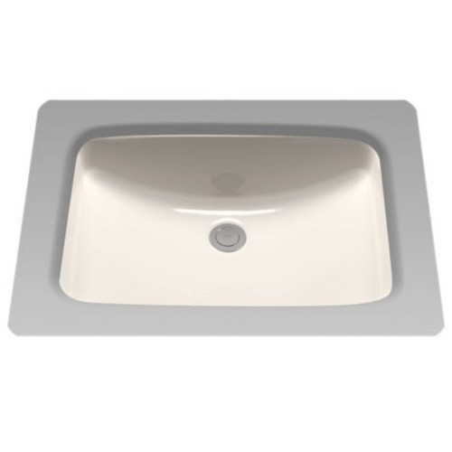 TOTO LT542G#12 Undermount Vitreous China 20.88 in. x 14.38 in. Rectangular Bathroom Sink (Sedona Beige)