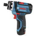 Bosch GSR12V-140FCB22 12V Max Lithium-Ion FlexiClick 5-in-1 1/4 in. Cordless Drill Driver System Kit (2 Ah) image number 6