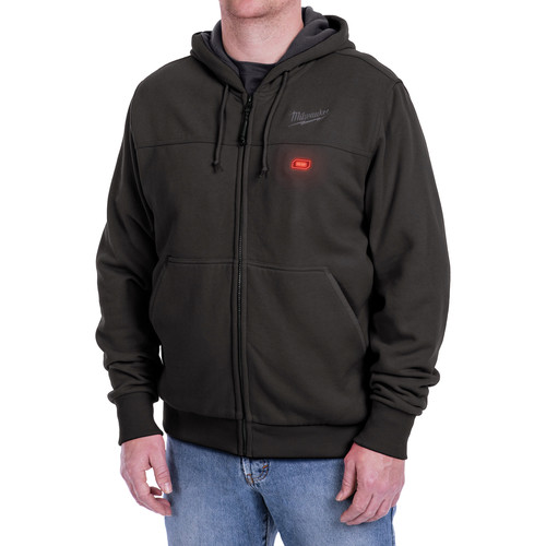Milwaukee 302B-203X M12 12V Li-Ion Heated Hoodie (Jacket Only) - 3XL image number 0