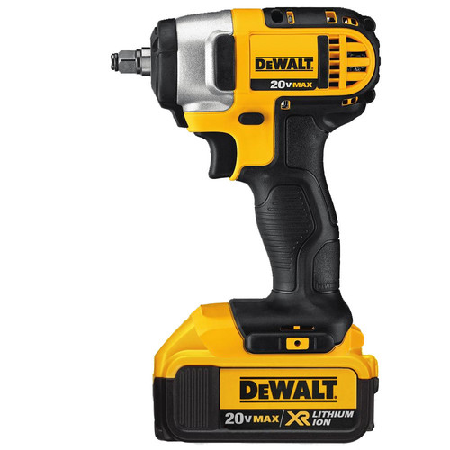 Dewalt DCF883M2 20V MAX XR Cordless Lithium-Ion 3/8 in. Impact Wrench Kit with Hog Ring Anvil image number 1