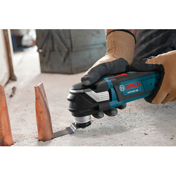 Factory Reconditioned Bosch GOP18V-28N-RT 18V EC Cordless Lithium-Ion Brushless StarlockPlus Oscillating Multi-Tool (Tool Only) image number 1