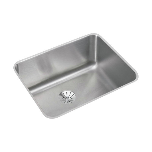 Elkay ELUH211510PD Lustertone 23-1/2 in. x 18-1/4 in. x 10 in., Single Bowl Undermount Sink with Perfect Drain (Stainless Steel)
