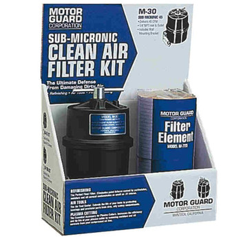 Motor Guard M45 Sub-Micronic Compressed Air Filter Kit