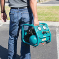 Factory Reconditioned Makita AC001-R 0.6 HP 1 Gallon Oil-Free Hand Carry Air Compressor image number 5