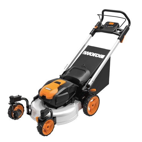 Worx WG771 56V Cordless Lithium-Ion 19 in. 3-in-1 Zero-Turn Mower