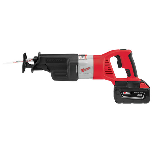 Milwaukee 0719-22 28V Cordless M28 Lithium-Ion Sawzall Reciprocating Saw with Case