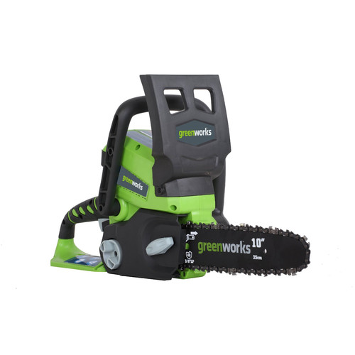 Greenworks 20182 24V Cordless Lithium-Ion Enhanced 10 in. Chainsaw Kit