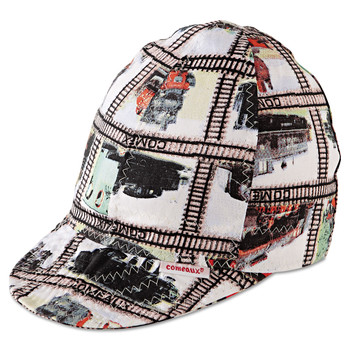 Comeaux 10718 Deep Round Crown Caps, Size 7 1/8, Assorted Prints