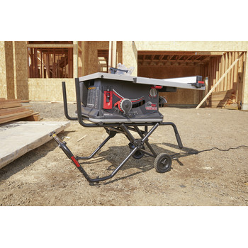 SawStop JSS-120A60 15 Amp 60Hz Jobsite Saw PRO with Mobile Cart Assembly image number 13