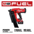 Milwaukee 2744-20 M18 FUEL 21-Degree Cordless Framing Nailer (Tool Only) image number 2