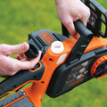 Black & Decker LCS1020 20V MAX Brushed Lithium-Ion 10 in. Cordless Chainsaw Kit (2 Ah) image number 7