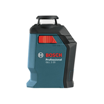 Factory Reconditioned Bosch GLL2-20S-RT Self-Leveling 360 Degree Line and Cross Laser image number 2