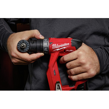 Milwaukee 2505-22 M12 FUEL Lithium-Ion 3/8 in. Cordless Installation Drill Driver Kit (2 Ah) image number 20