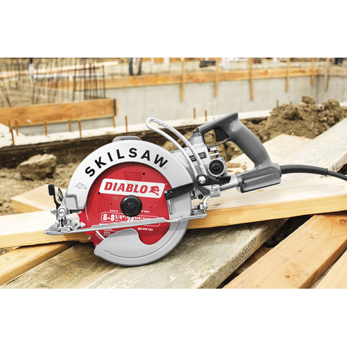 SKILSAW SPT78W-22 15 Amp 8-1/4 in. Aluminum Worm Drive Saw image number 5