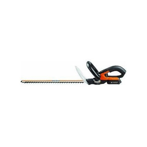 Worx WG255.1 20V Cordless Lithium-Ion 20 in. Dual Action Hedge Trimmer