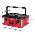 Milwaukee 48-22-8425 PACKOUT Large Tool Box image number 1