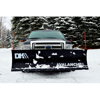 Detail K2 AVAL8826 Avalanche 88 in. x 26 in. Heavy Duty UNIVERSAL T-Frame Snow Plow Kit with 3000 lbs. EW8020 Winch and EWX004 Wireless Remote image number 5