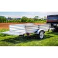 Detail K2 MMT5X7G 5 ft. x 7 ft. Multi Purpose Utility Trailer Kits (Galvanized) image number 7