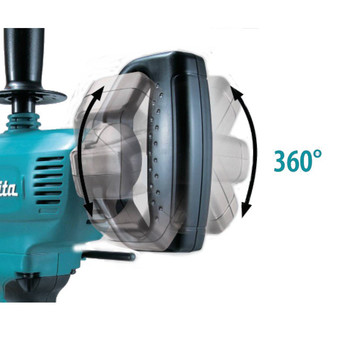 Makita DS4012 8.5 Amp 0 - 600 RPM Variable Speed 1/2 in. Corded Drill with Spade Handle image number 1