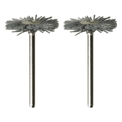 Dremel 538-02 1 in. Nylon Brushes (2-Pack)