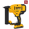 Factory Reconditioned Dewalt DCN681BR 20V MAX Cordless Lithium-Ion 18 Gauge Narrow Crown Stapler (Tool Only) image number 2