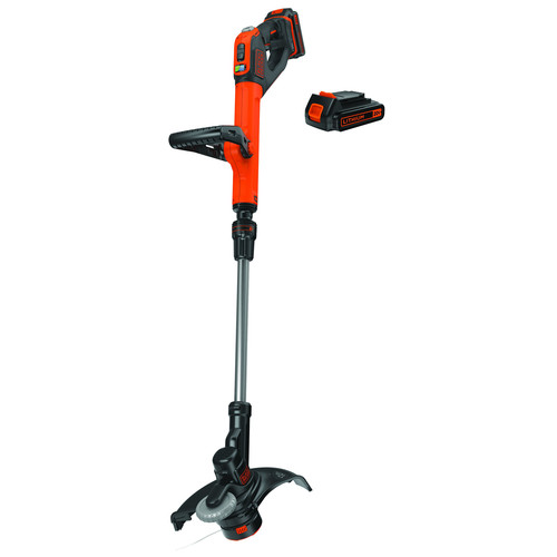 Factory Reconditioned Black & Decker LSTE525R 20V MAX 1.5 Ah Cordless Lithium-Ion EASYFEED 2-Speed 12 in. String Trimmer/Edger Kit