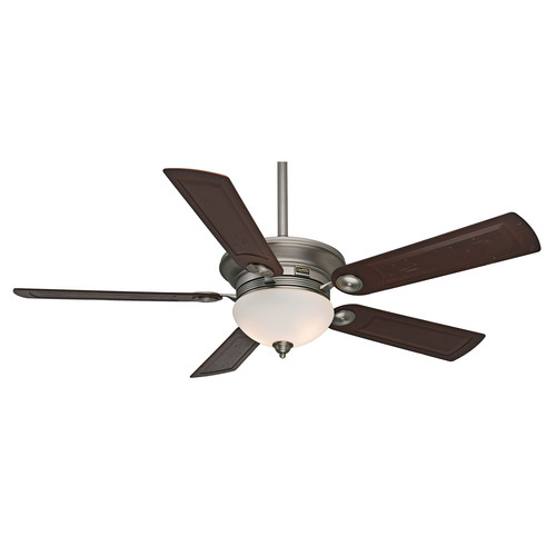 Casablanca 59062 54 in. Transitional Whitman Antique Pewter Rosewood Indoor Ceiling Fan