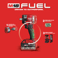 Milwaukee 2855P-22 M18 FUEL Lithium-Ion Brushless Compact 1/2 in. Cordless Impact Wrench Kit with Pin Detent (5 Ah) image number 10