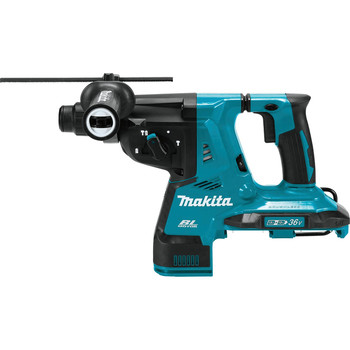 Makita XRH10Z 18V X2 LXT Lithium-Ion (36V) Brushless Cordless 1-1/8 in. AVT Rotary Hammer, accepts SDS-PLUS bits, AFT, AWS Capable (Tool Only) image number 1