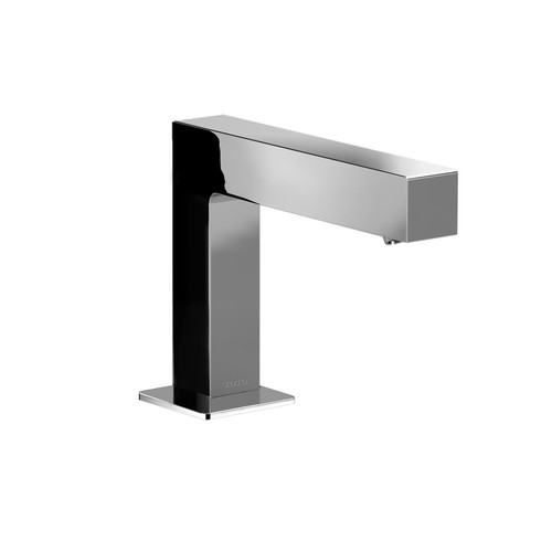 TOTO TEL145-D10E-CP Axiom Spout Single-Hole On-Demand Bathroom Faucet Kit (Polished Chrome)