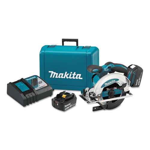 Makita XSS01T 18V LXT 5.0 Ah Cordless Lithium-Ion 6-1/2 in. Circular Saw Kit