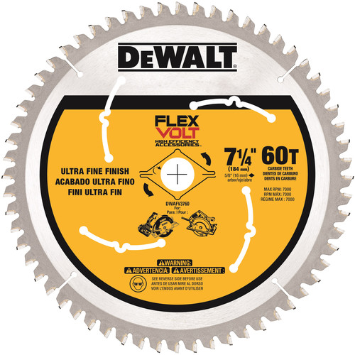 Bosch Daredevil 6 1 2 in 18 Tooth Circular Saw Blade DCB618