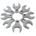 Sunex 9730 8-Piece 1/2 in. Drive Metric Jumbo Straight Crowfoot Wrench Set