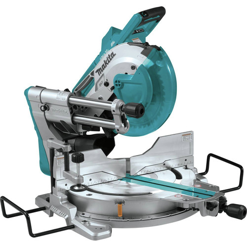 Makita XSL04ZU 18V X2 LXT Lithium-Ion (36V) Brushless 10 in. Dual-Bevel Sliding Compound Miter Saw with AWS and Laser (Tool Only)
