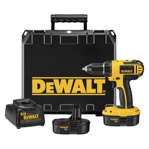 Factory Reconditioned Dewalt DC720KAR 18V Cordless 1/2 in. Compact Drill Driver Kit