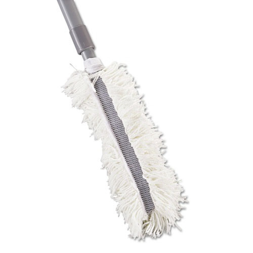 Rubbermaid T130 102 in. Extendable Super HiDuster Dusting Tool with Straight Launderable Head