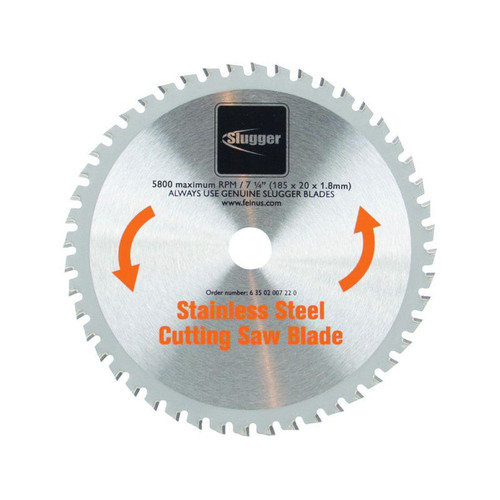 Fein 63502007220 Slugger 7-1/4 in. Stainless Steel Cutting Saw Blade