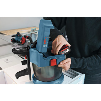 Bosch GAS18V-3N 18V 2.6 Gal. Wet/Dry Vacuum Cleaner with HEPA Filter (Tool Only) image number 9