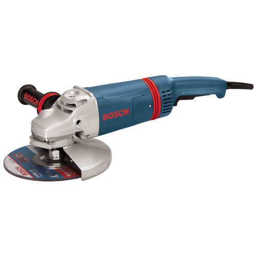 Bosch 1873-8F 7 in. 3 HP 8,500 RPM Large Angle Grinder with Lock-On